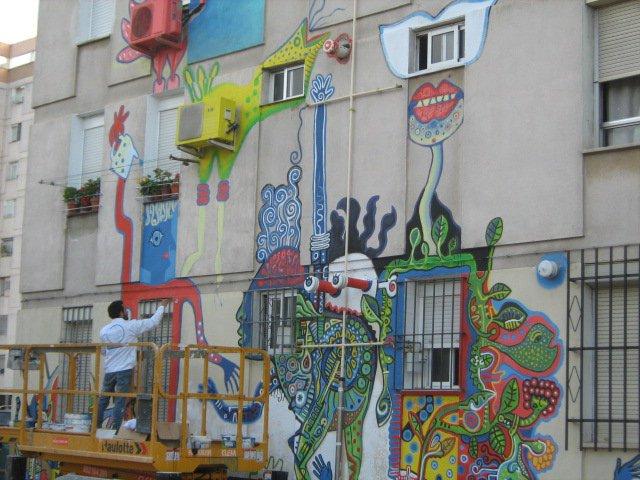 Sevilla Arte Para Todos. Indigo Incoming, Diávolo Producción Cultural.